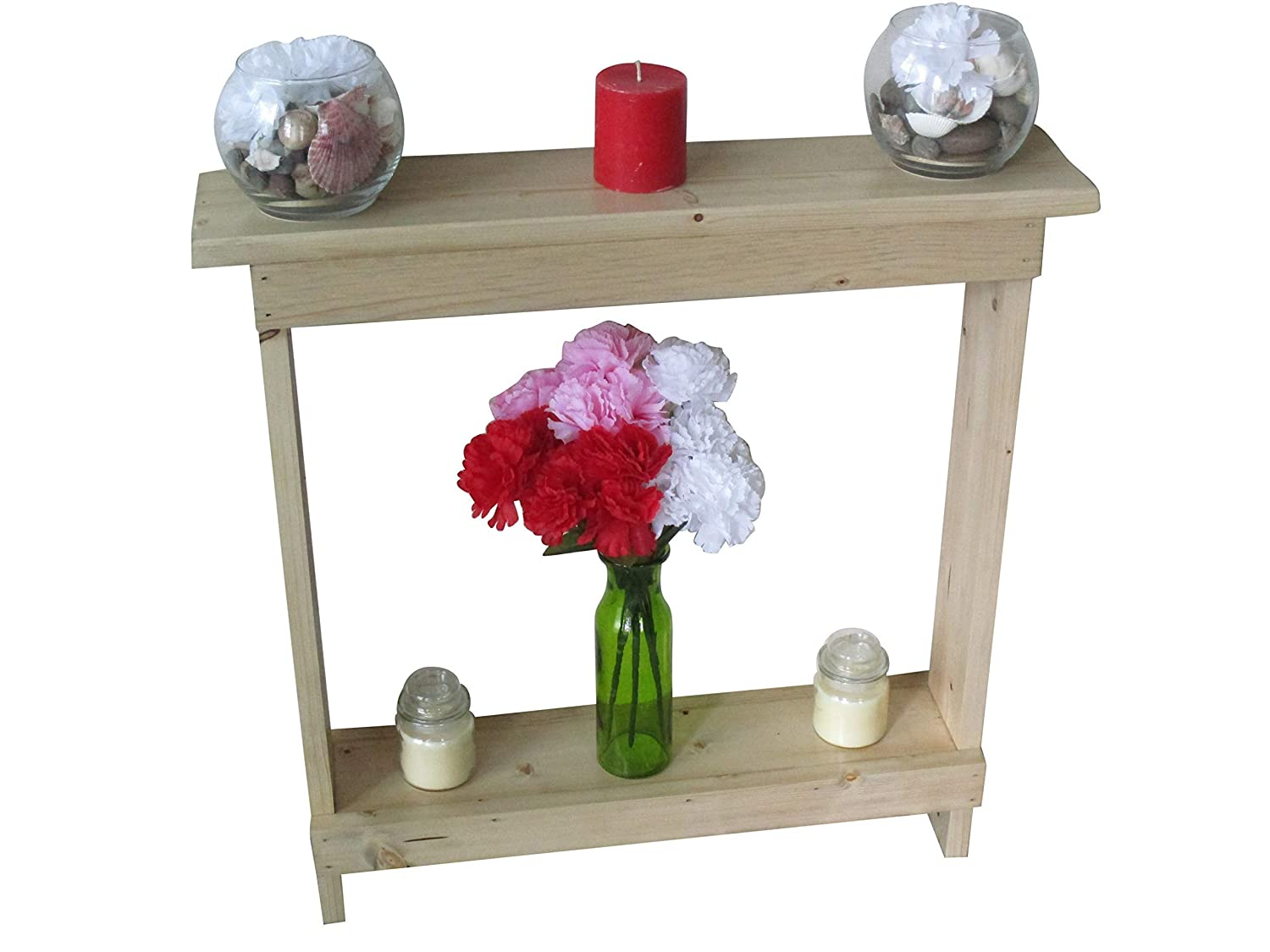 - Amazon.com: Small Accent Table, Skinny Side Table, Narrow End