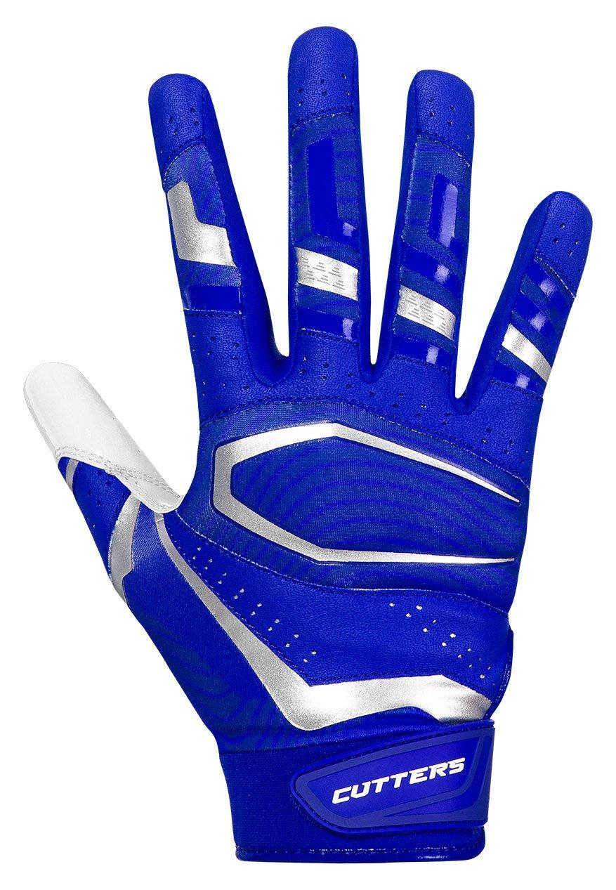 McDavid Rev Pro 3.0 Receiver Gloves B07BLZW4GL ロイヤル/ホワイト Small Small|ロイヤル/ホワイト