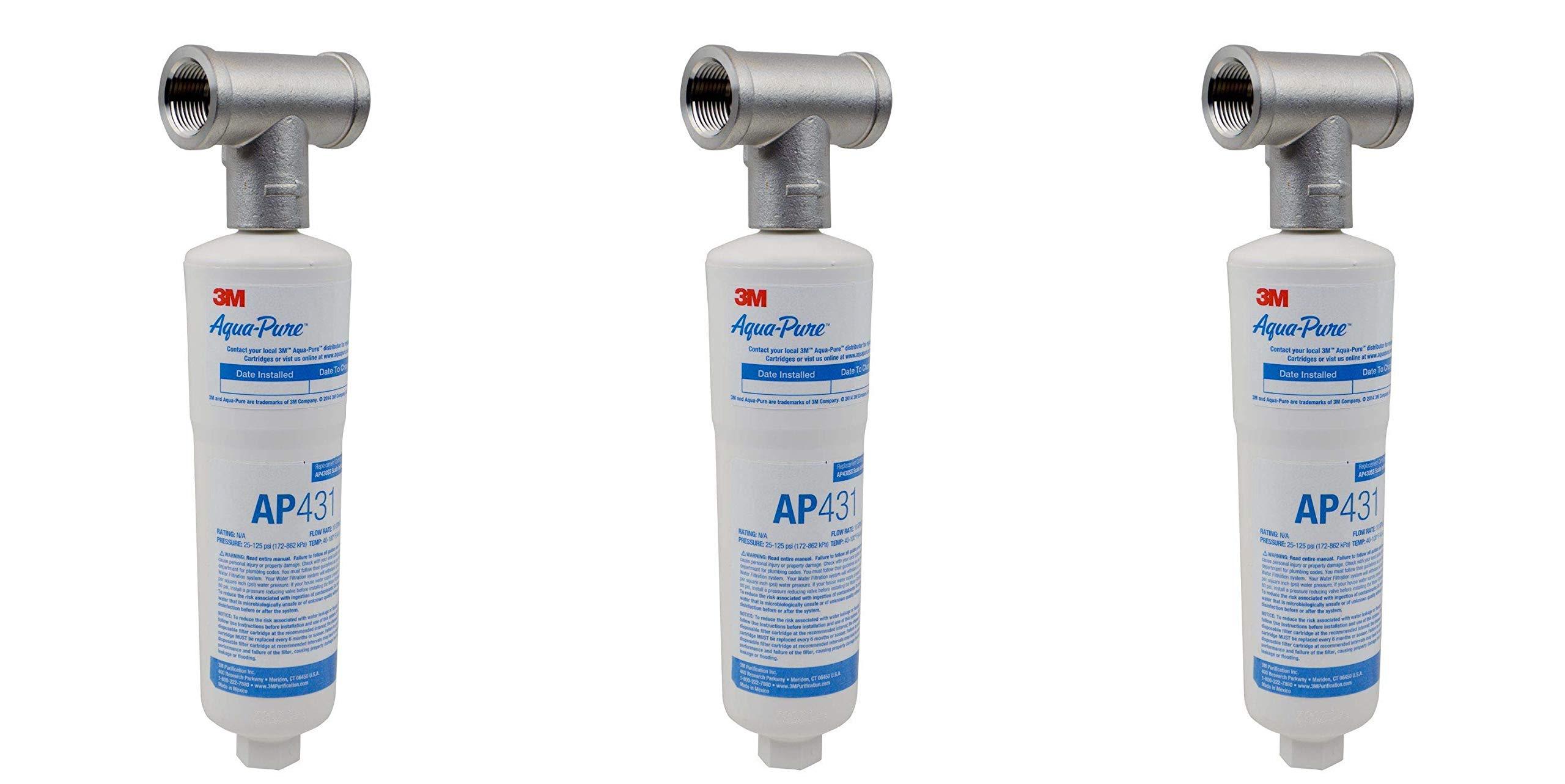 Aqua-Pure AP430SS Hot Water System Protector (3 Pack) by AquaPure