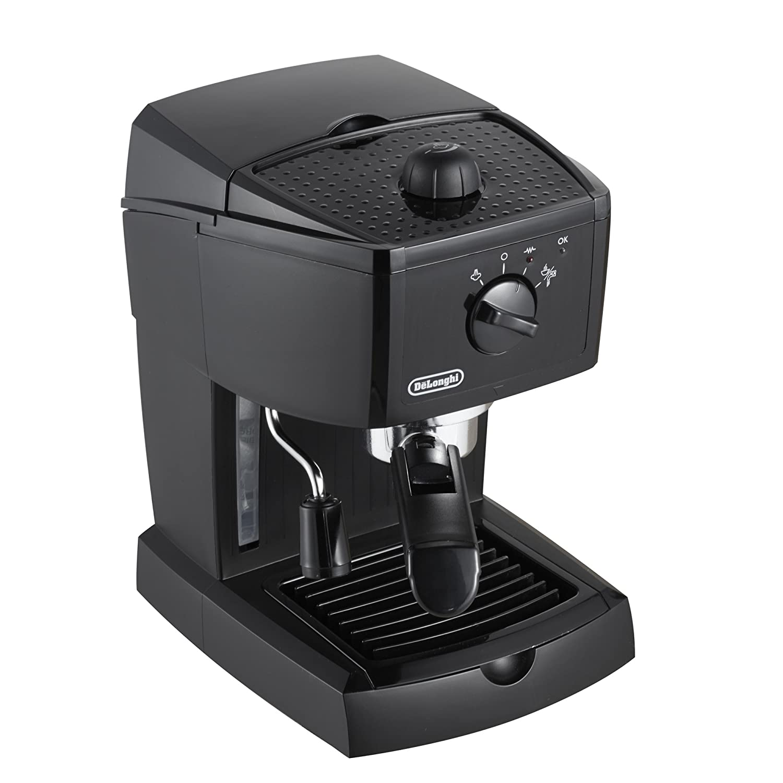 DeLonghi EC 145 - Cafetera espresso, 1 litro de capacidad, 15 bares