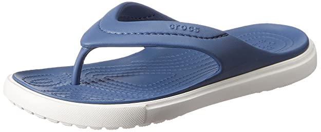 fa4e7a93d crocs Unisex Citilane Bijou Blue and White Flip Flops Thong Sandals - M6W8   Buy Online at Low Prices in India - Amazon.in