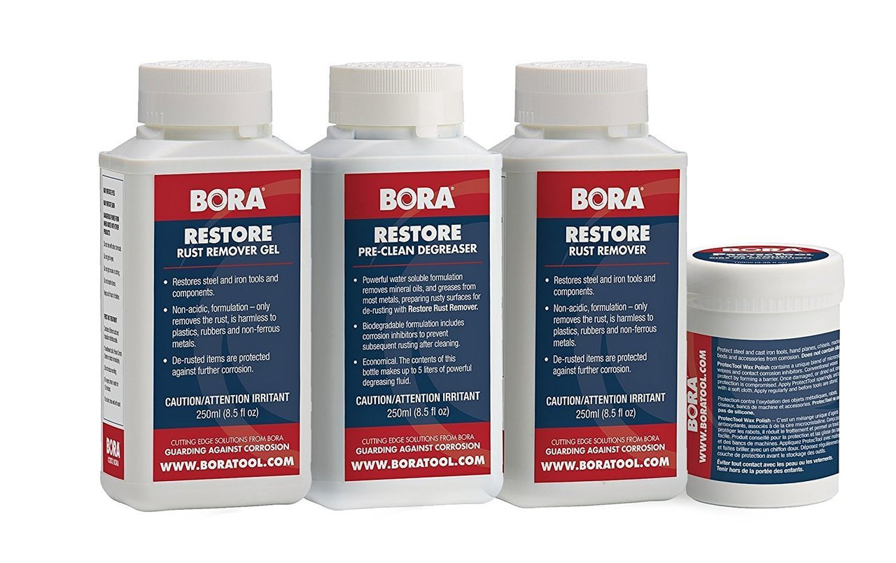 Bora STN-URP850K Ultimate Metal Conditioning Treatment, Rust Removal & Protect Kit