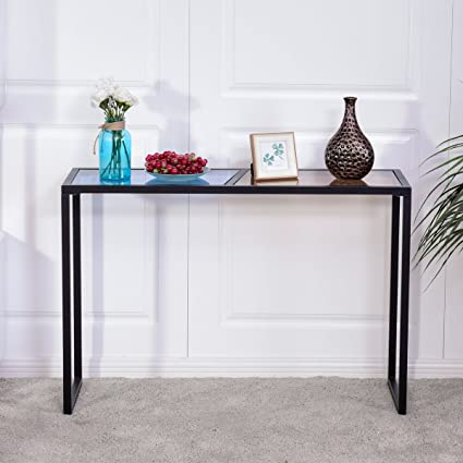 Amazon Com Modern Console Table Bestcomfort Entryway Table Sofa