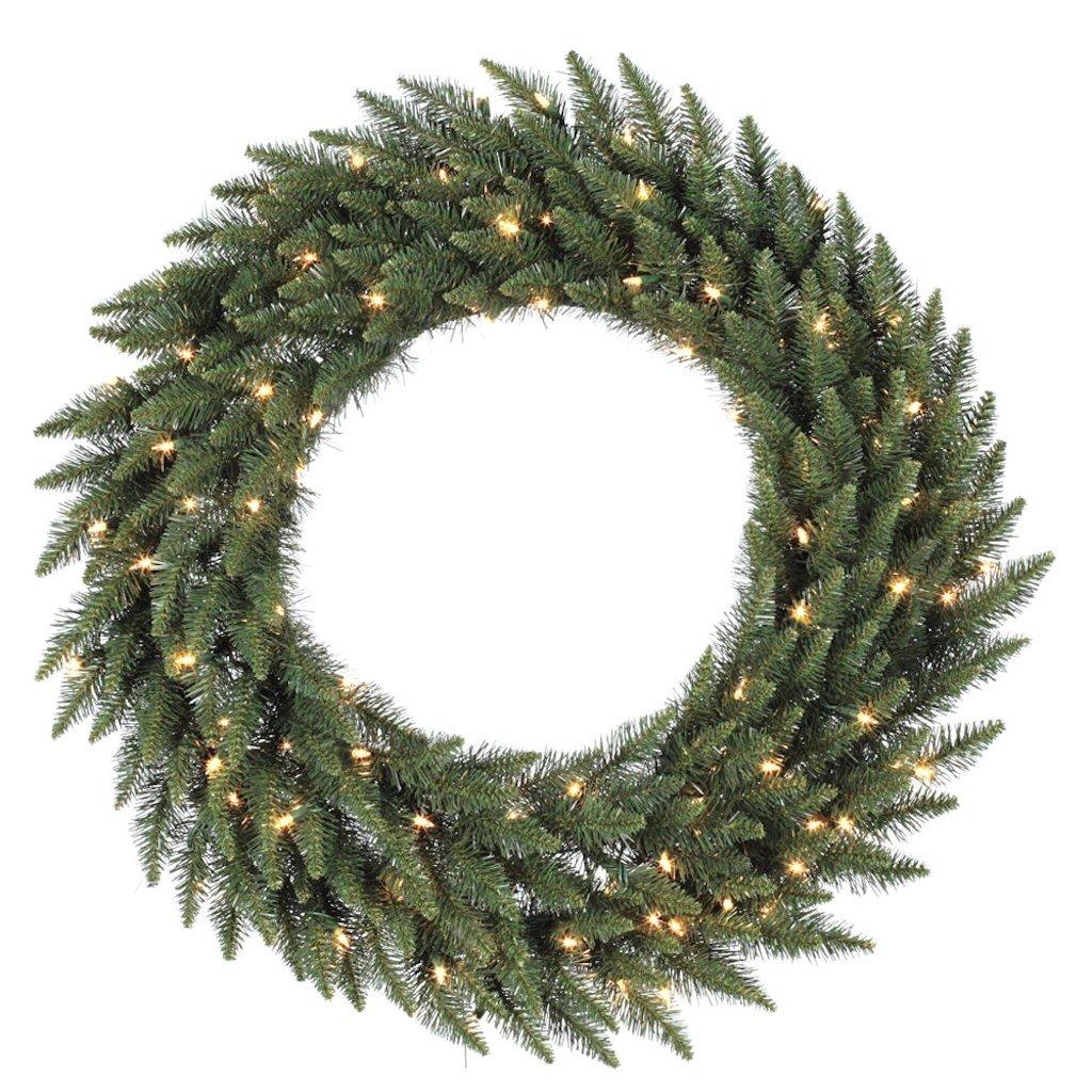 Vickerman 84 in. Pre-Lit LED Camden Fir Wreath