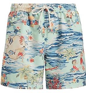 e3a0e53405e93 Ralph Lauren Hawaiian Boxer Swim Shorts: Amazon.co.uk: Clothing