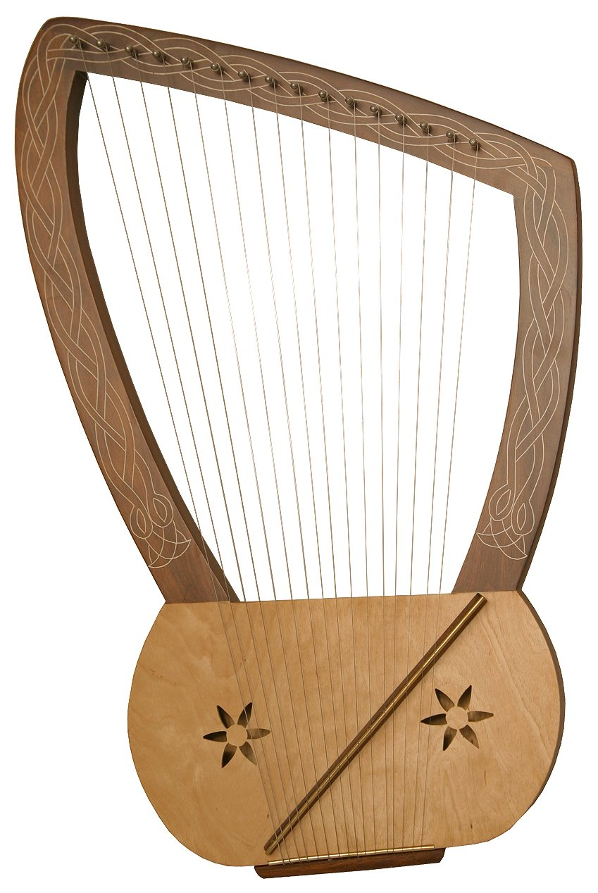Lyre Harp 16 String Amazoncouk Musical Instruments