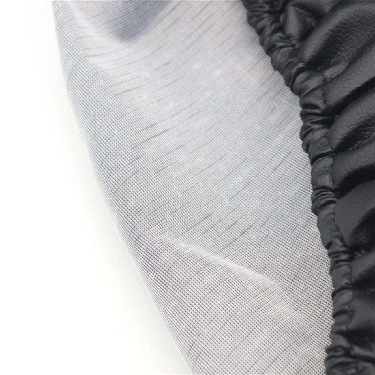 Housse de pneus Housses de Roue de Secours Tiger Animal PU Cuir Protecteur diam/ètre de 66cm