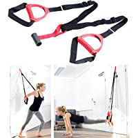 PEARL sports Tür Expander: Suspension-Schlingentrainer mit Türanker für Ganzkörpertraining (Suspension Trainer)