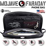 Mission Darkness Mojave Faraday Phone Bag -- Multi-Functional Travel case with Accessory Pockets and Built-in Faraday…