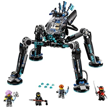 Amazon.com: LEGO Ninjago Movie Water Strider 70611 Building Kit ...