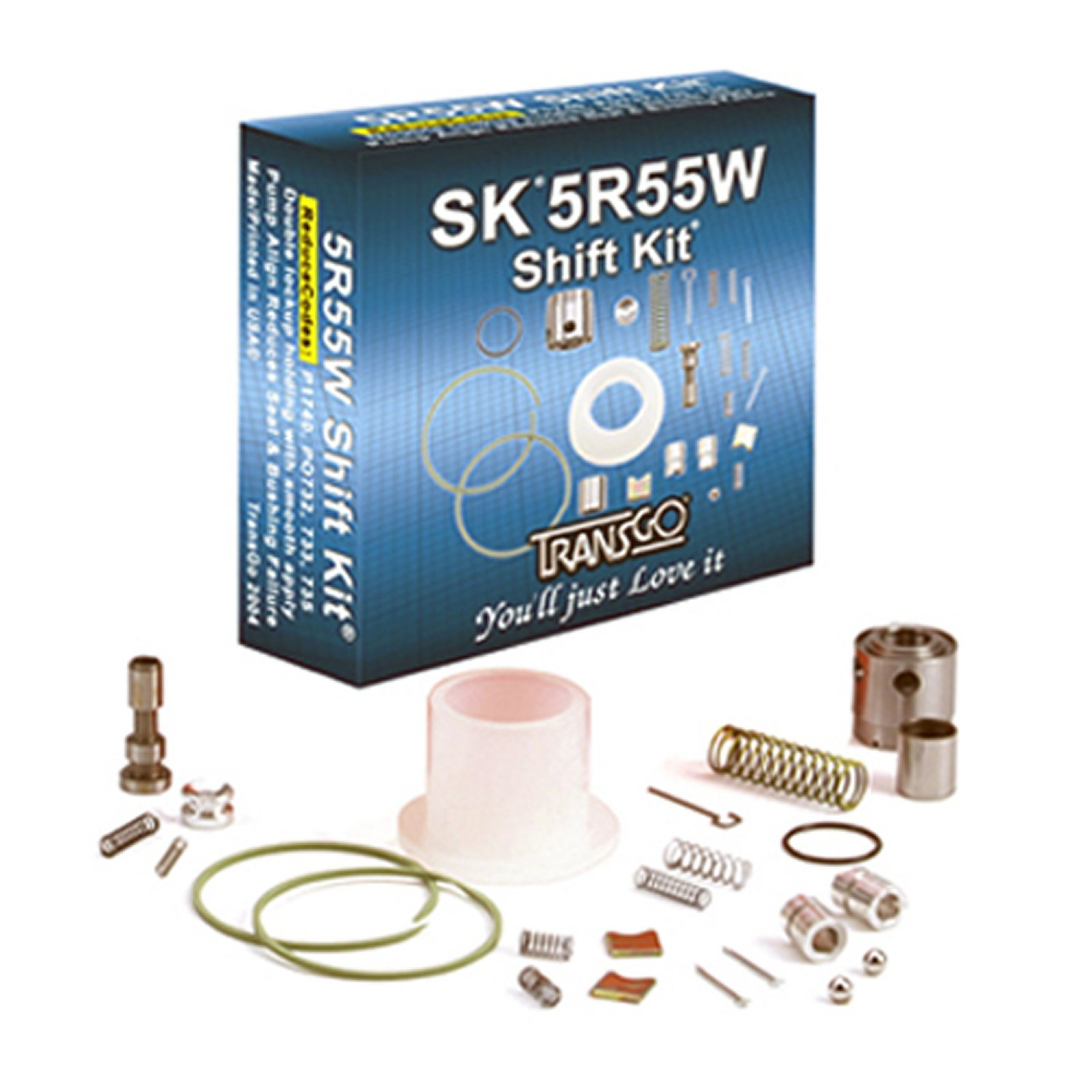 5R55W TRANSGO Shift Kit Valve Body Rebuild Kit