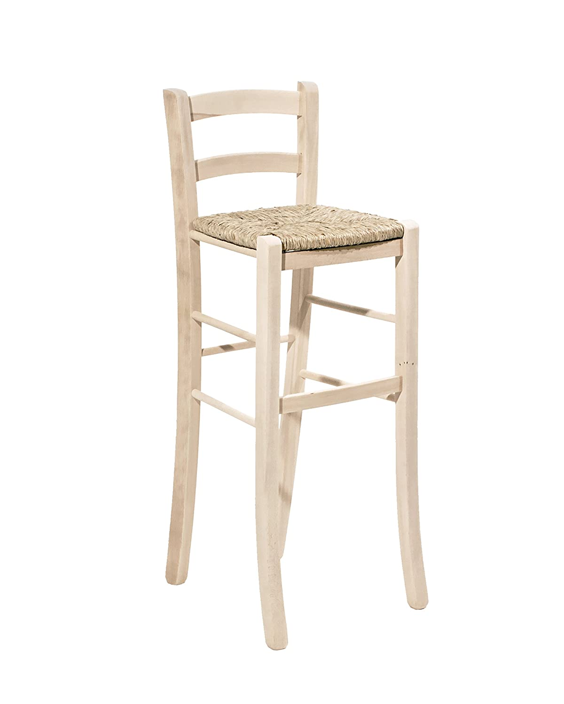 OKAFFAREFATTO MADDALONI Stühle aus massivem Holz mit mit mit Sitzfläche aus Paglia H 80 von Terra, lackiert, fertig montiert 0eb398