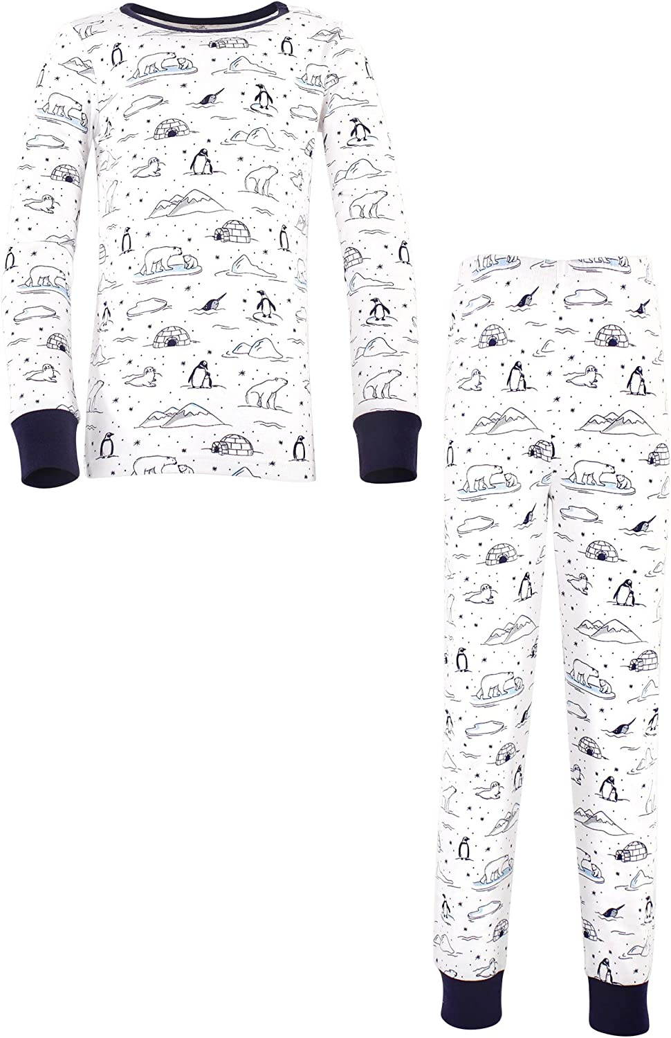 Touched by Nature Kids' Organic Cotton Tight-fit Pajama Set
