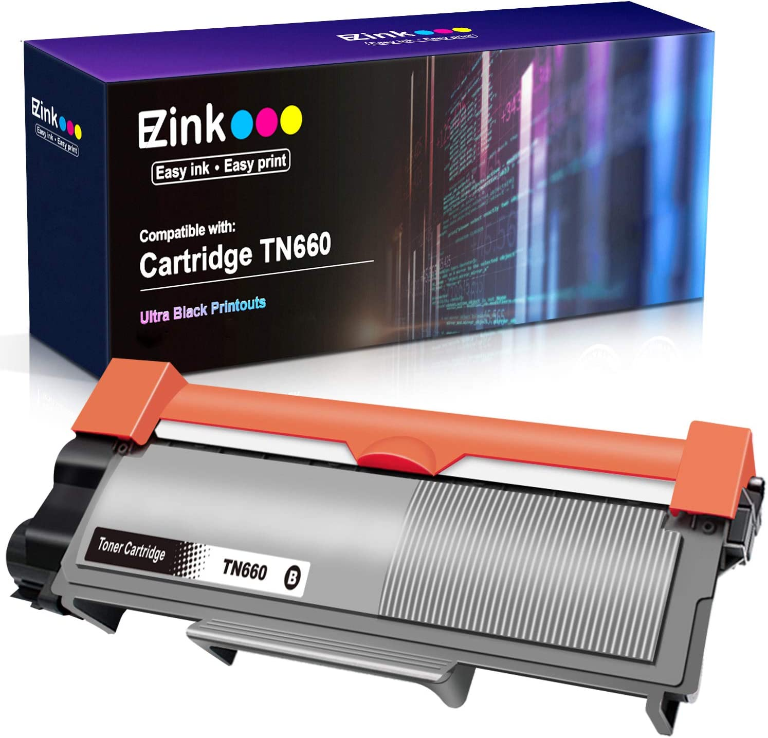 EZ Ink (TM) Compatible Toner Cartridge Replacement for Brother TN660 High Yield to use with HL-L2300D HL-L2320D HL-L2380DW HL-L2340DW MFC-L2700DW ...