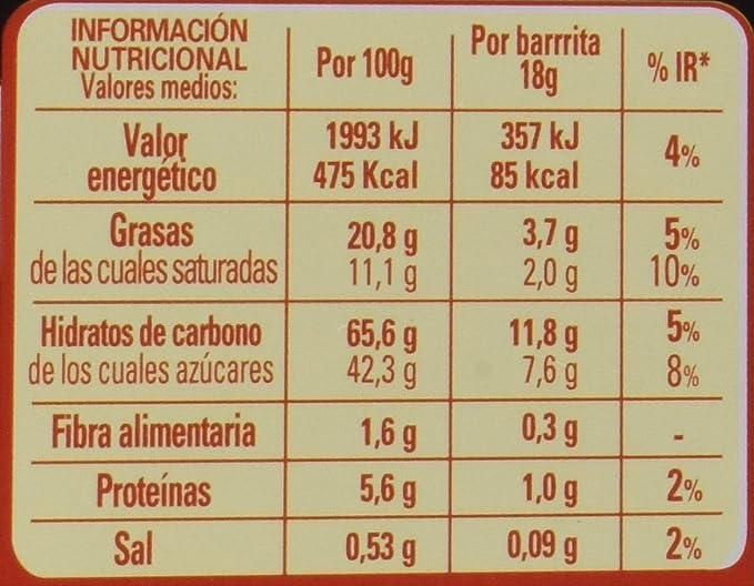 Lion Barritas Chocolate - Paquete de 27 x 18 gr - Total: 486 gr: Amazon.es: Alimentación y bebidas