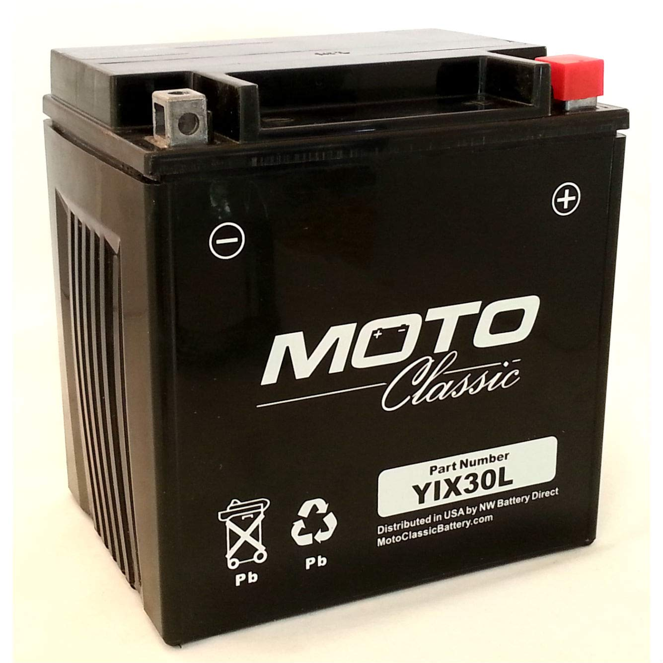 Moto Classic YIX30L 12V 34ah Sealed AGM 420CCA 30 Mo. Warranty ATV/Motorcycle Battery by Moto Classic (Image #2)