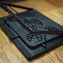 Amazon Com Kootek Laptop Cooling Pad 12 Quot 17 Quot Cooler Pad