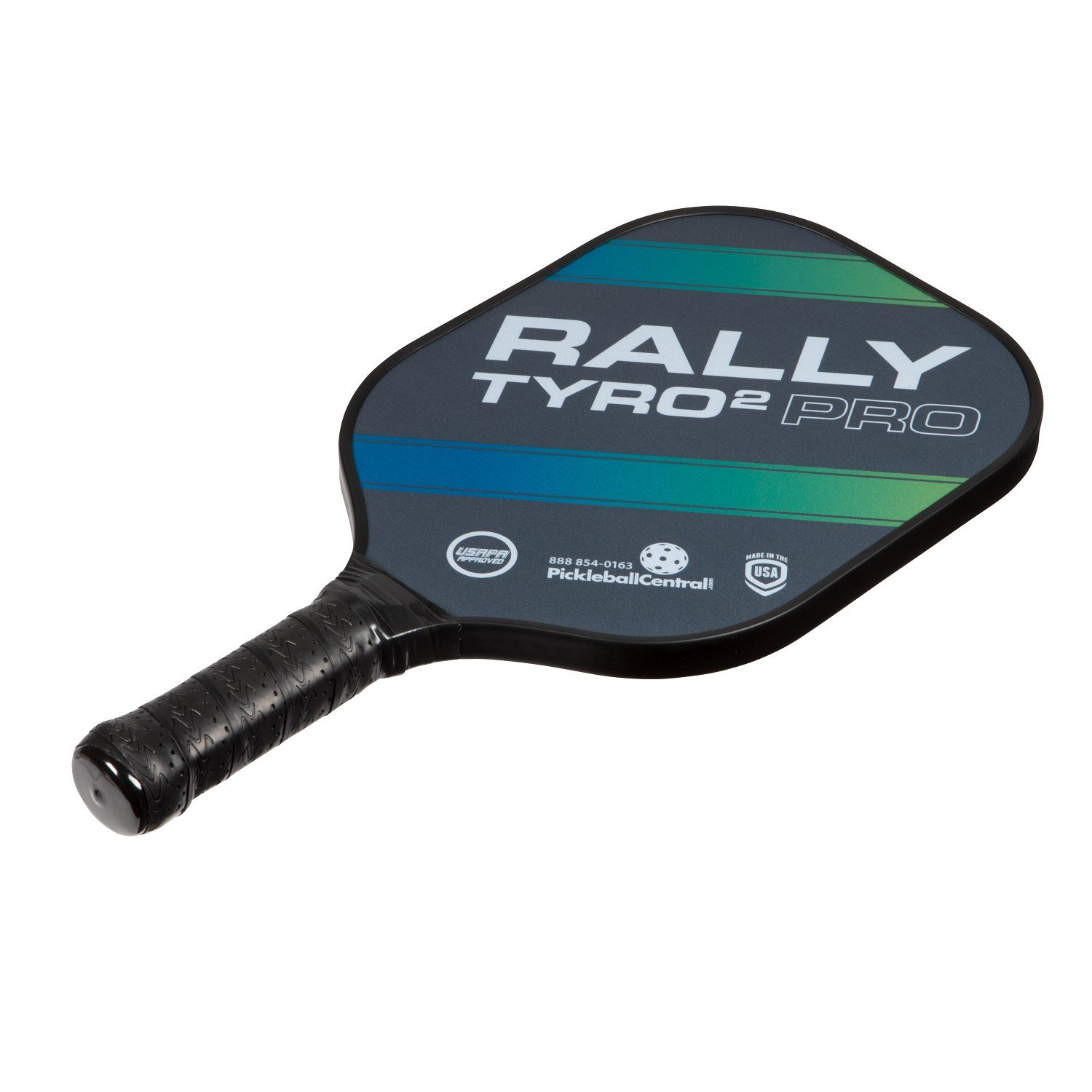 Rally Tyro 2 Pro Pickleball Paddle (2 Paddles / 4 Ball Bundle - Ocean Blue) by PickleballCentral (Image #4)