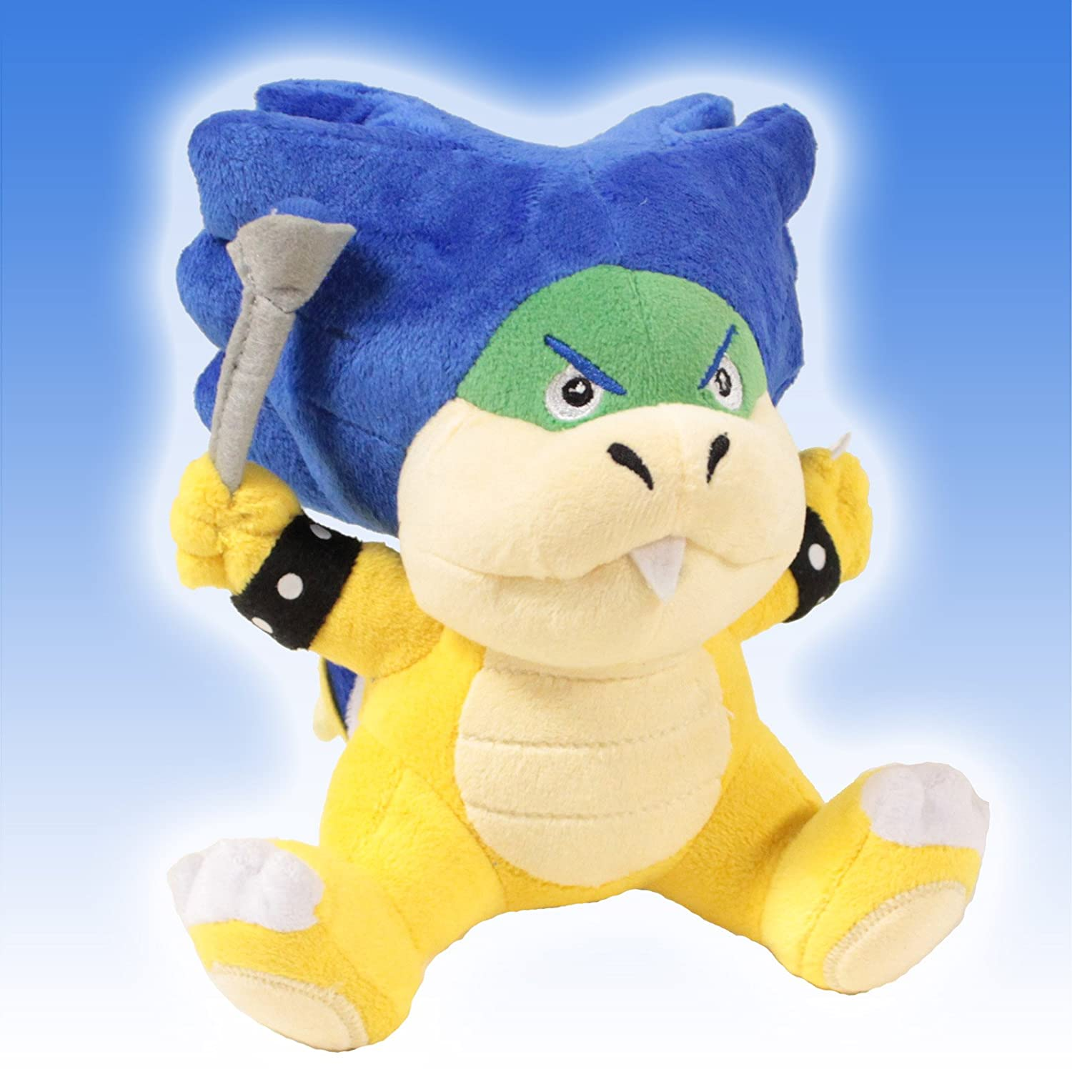 Super Mario Brothers 6 Plush ludwig von Koopa toy Doll by Super Mario Brothers