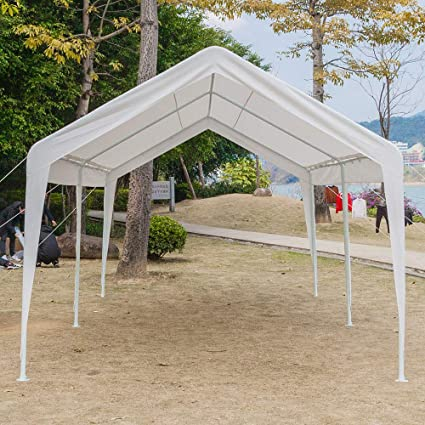 new style 0a6db dd93c Amazon.com : beewert car Port Canopy Gazebo Tent Cover with ...