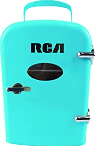 Compact refrigerators by RCA - Multi Colors, Office Product, small meal cool, Beverage, Drinks (Blue)