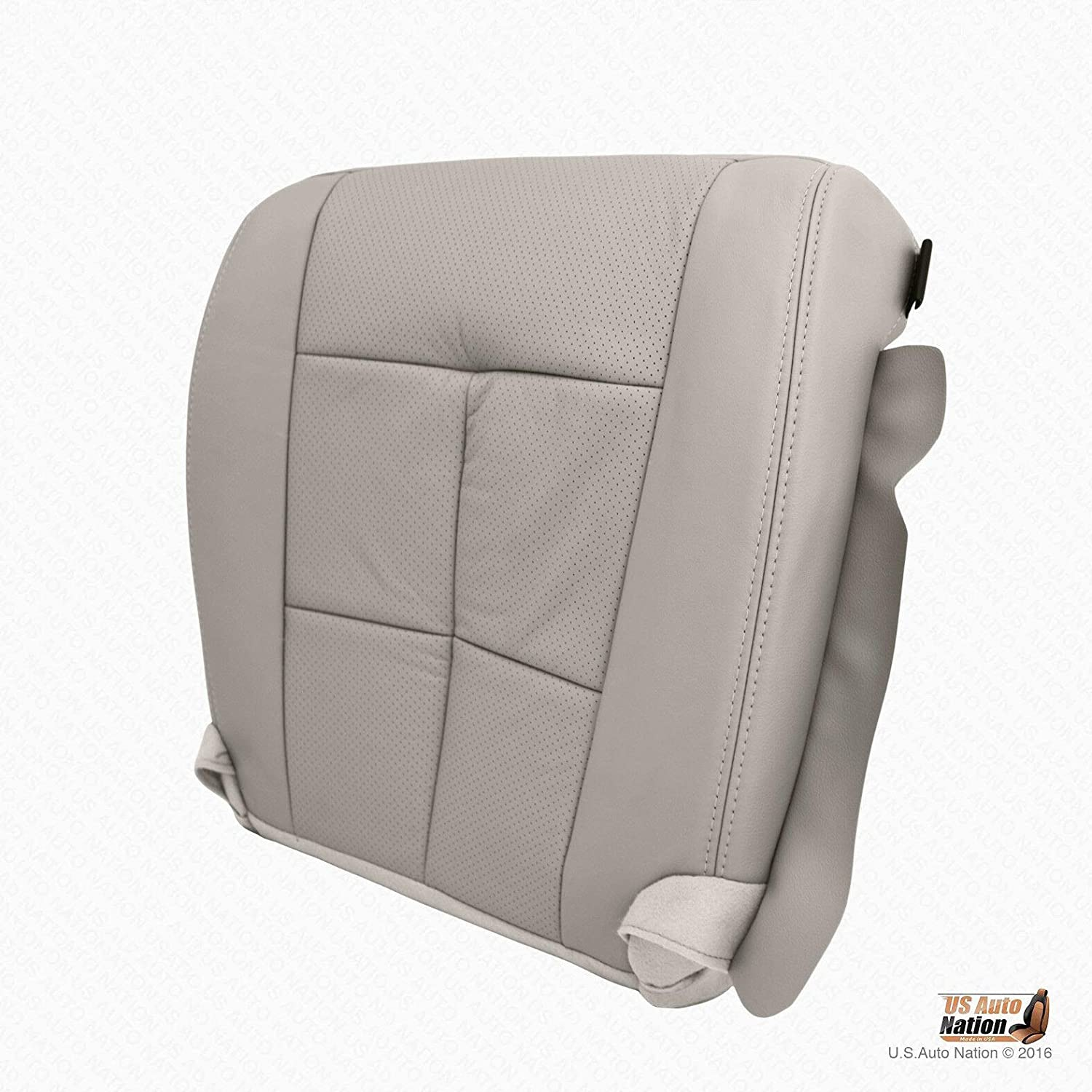 US Auto Nation Lincoln Navigator Passenger Bottom Perforated Leather Gray Cover