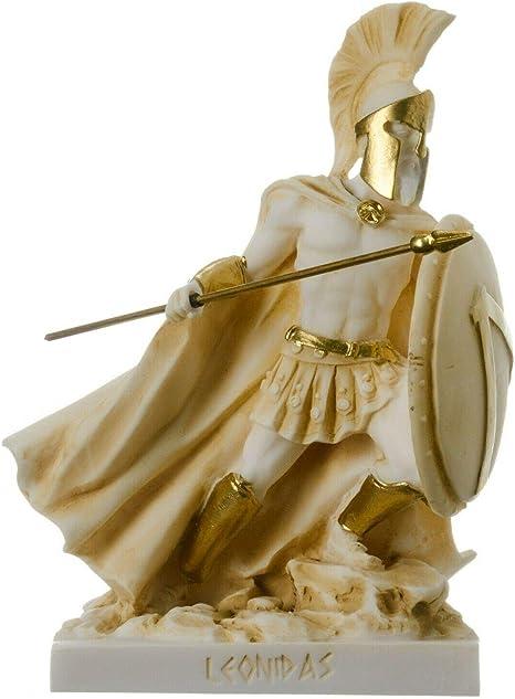 Leonidas Statue Spartan King Alabaster