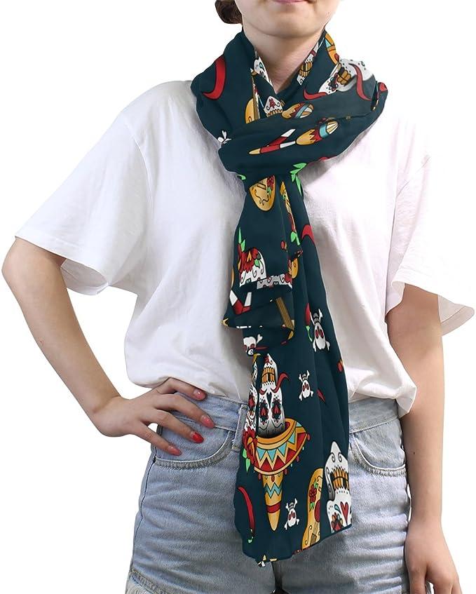 Echarpe Femme Multicolore Multicolore 90 Use7