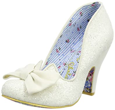 5f581a2f7b9c Irregular Choice Women's Nick of Time Closed-Toe Pumps: Amazon.co.uk ...