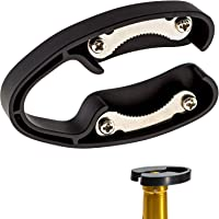 2 Pack Premium Dual Blade Wine Foil Cutter - Wine Bottle Opener Accessory - Gift for Wine Lovers by HQY (Black &White)