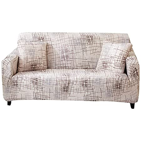 Outstanding Forcheer Stretch Sofa Slipcover Polyester Spandex Fabric Couch Covers Sofa Furniture Protector 2 Seat Squirreltailoven Fun Painted Chair Ideas Images Squirreltailovenorg