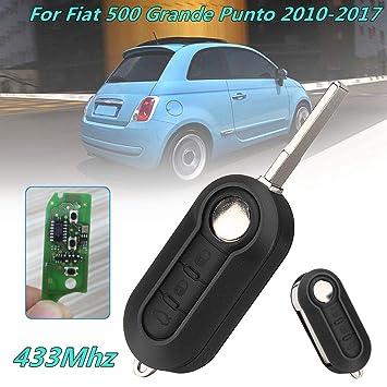 Amazon.com: Carcasa para llave de coche con mando a ...
