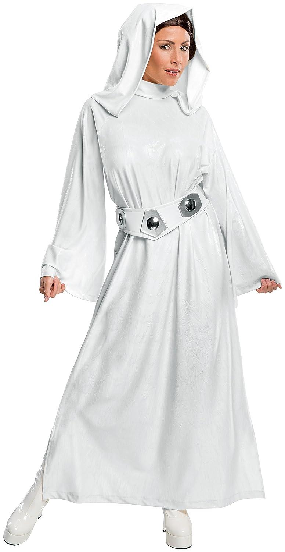 Rubie's Offizielles Damen Prinzessin Star Wars Prinzessin Damen Leia-Kostüm, Erwachsenen-Kostüm – XS 5c25ce