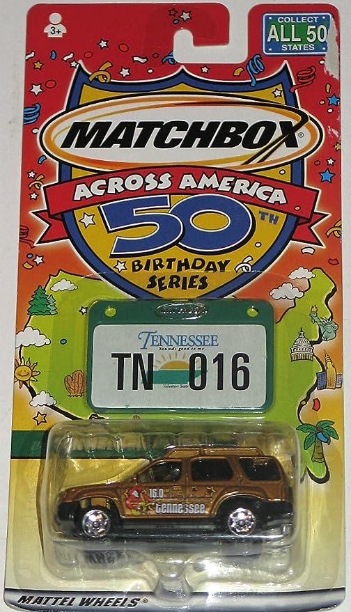 Amazon Com Matchbox Across America 50th Birthday Series Tennessee