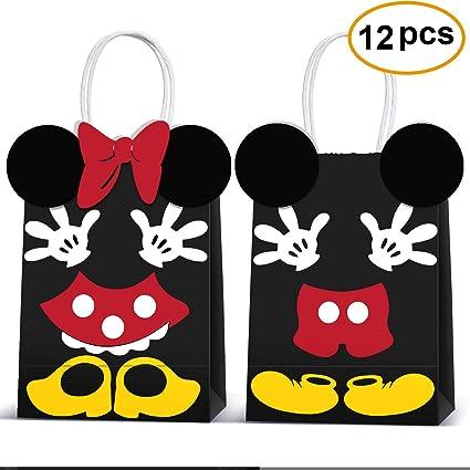 Amazon.com: Micky Minnie Bolsas de regalo para fiesta ...