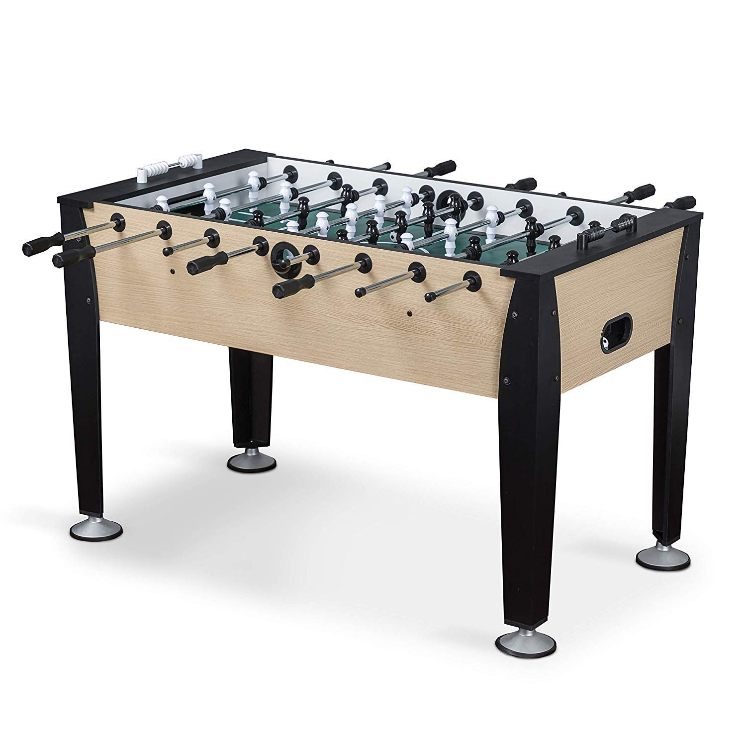 EastPoint Sports Preston Foosball Table Game - 54 inches - Features Hollow Steel Player Rods, Bead Style Scoring, and Includes 2 Foosball Balls by EastPoint Sports