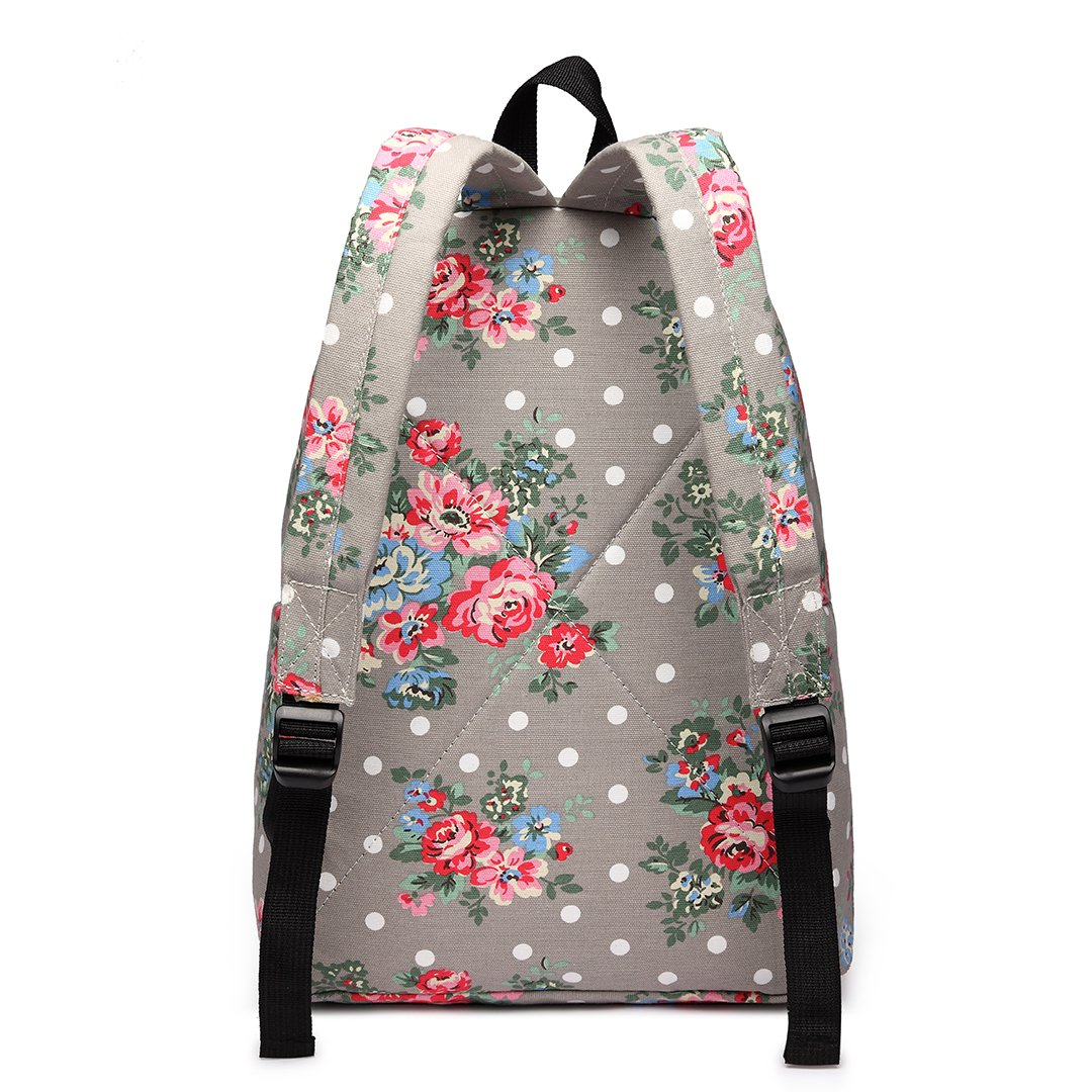 Amazon.com: Miss Lulu Mochilas Escolares Lona Bookbag Lindo ...