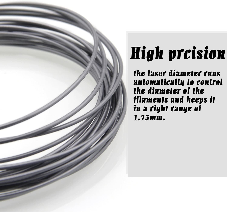 Infreecs Filamento PLA 1.75 Materiali Filamenti per Stampa 3D // Print Penna 3D Hobby Creativi 3D PLA Filament Filamento Stampante 3D 1.75mm 10M 12 Kit