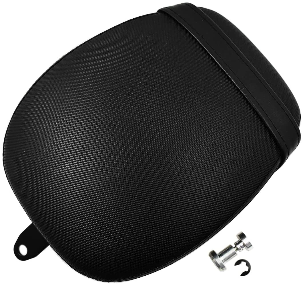 Rear Passenger Pillion Pad Seats with Belt for Harley Sportster 883 1200 2010-2018
