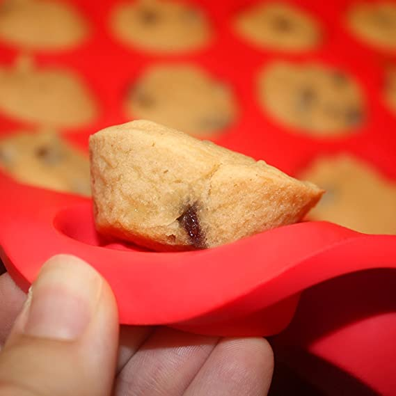 Dr Butler - Mini molde de silicona antiadherente para muffins con ...