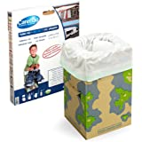 Carebag Kit WC (assise en carton pliable + 12 sacs absorbants oxo-biodégradables)