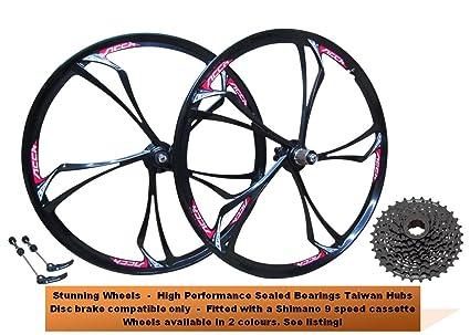26 Mountain MTB bicicleta freno de disco ruedas de aleación de ...