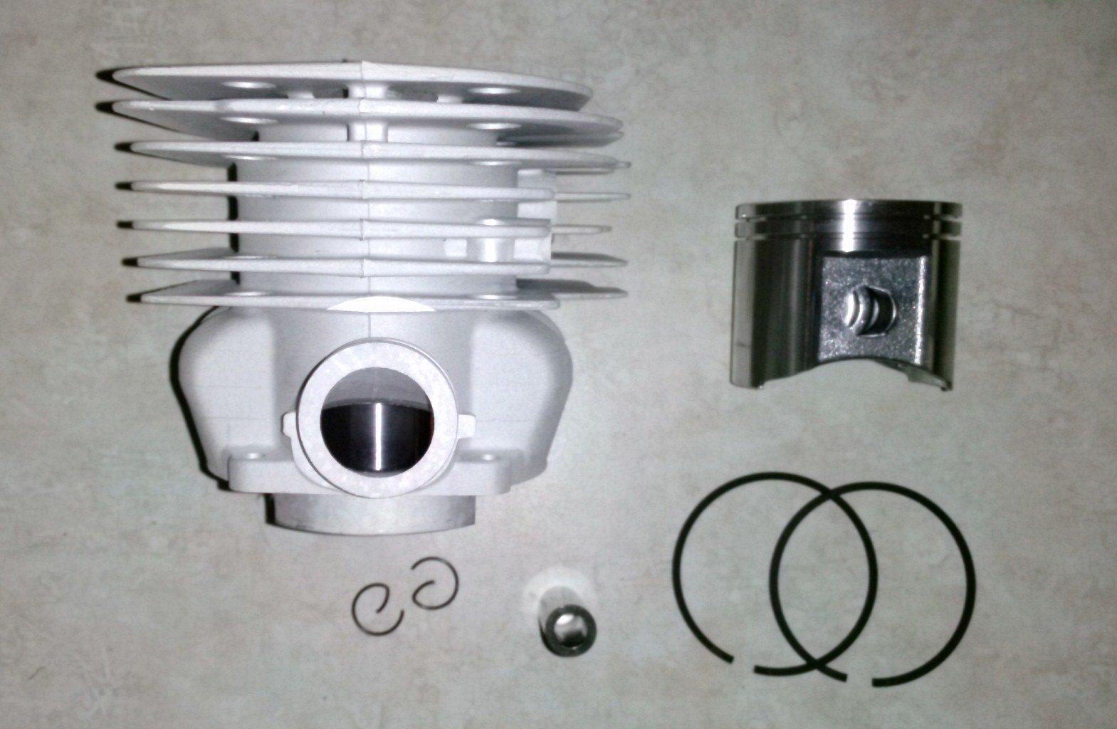 Cylinder Piston Kit for Husqvarna 390 390XP 385 55mm Jonsered 2188 2186 Replaces OEM