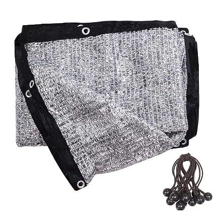 Amazon.com: soclerg 70% tela de aluminio para sombra ...