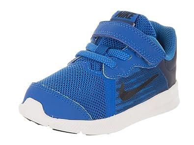 cf780eaf1903 Nike Toddlers Downshifter 8 (TDV) Blue Nebula Dark Obsidian Navy Running  Shoe