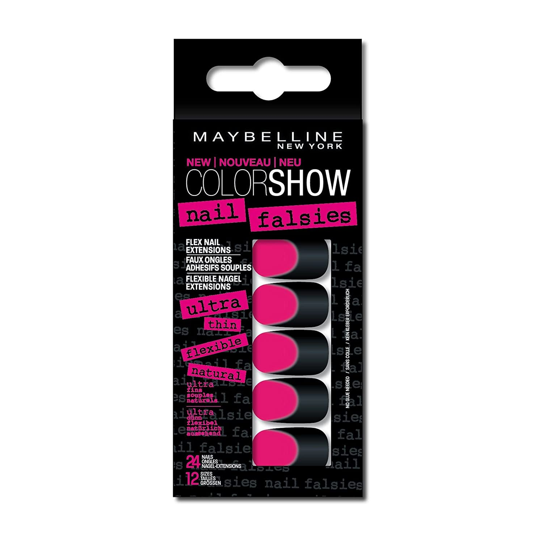 Gemey Maybelline Faux Ongles Adhésifs Color Show - 06 Pink Haze: Amazon.es: Salud y cuidado personal