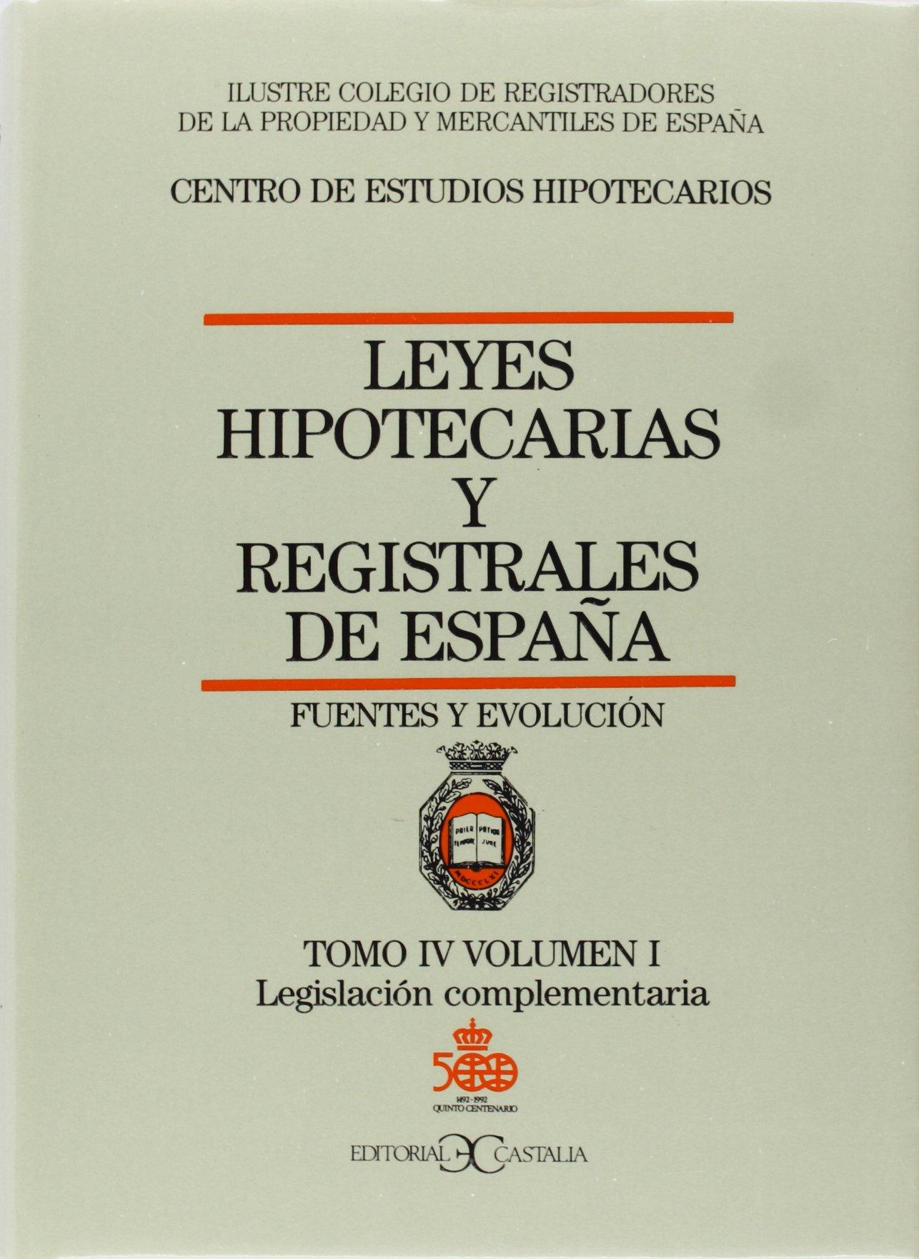 LEYES HIPOTECARIAS 4/1 CASTALIA: Amazon.es: AA.VV.: Libros