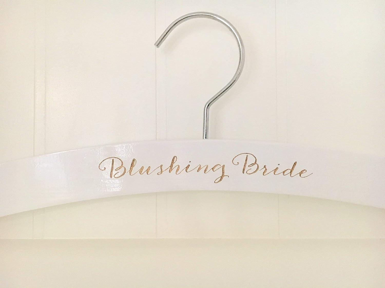 WEDDING Hanger, Personalized Bride Hanger, Wedding Dress Hanger, Bride Hanger, Mrs. Hanger, Personalized Bridal Hanger, Bride-to-be Gift, Bridal Shower Gift, Bride Hanger