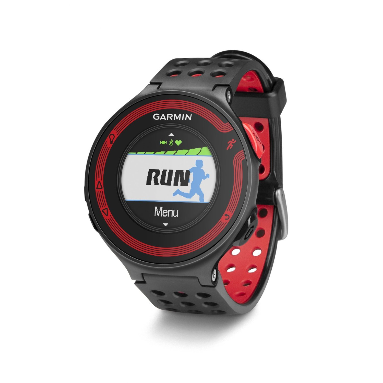 Garmin Forerunner 220 Running GPS Black/Red - 010-N1147-00 (Certified Refurbished)
