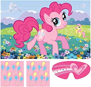 Amscan 275513 My Little Pony 'Friendship is Magic' Party Game Poster (1ct)